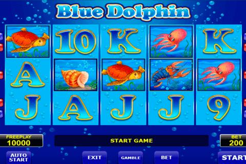blue dolphin amatic slot