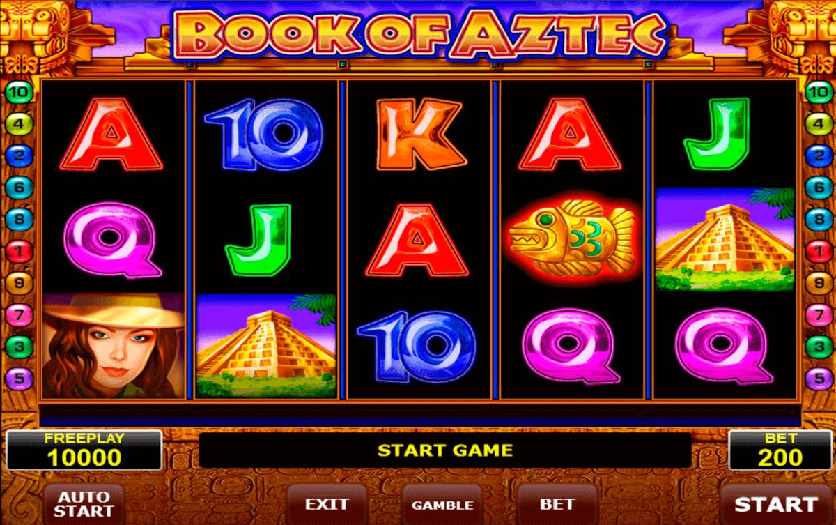 book of aztec amatic slot