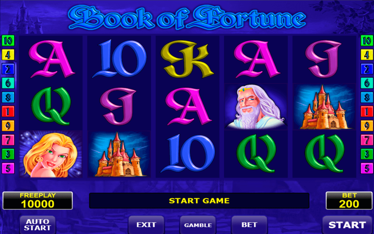 book of fortune amatic slot