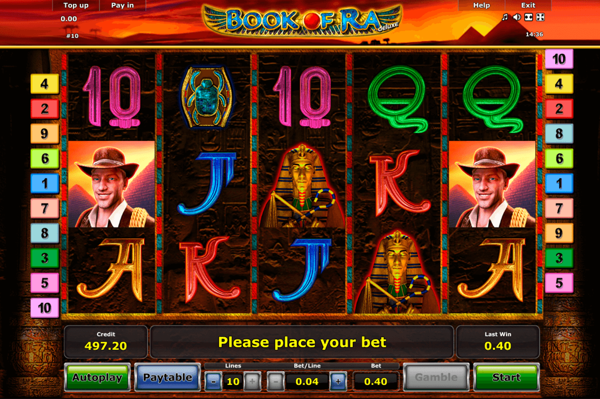 Book Of Ra Free Slots Game