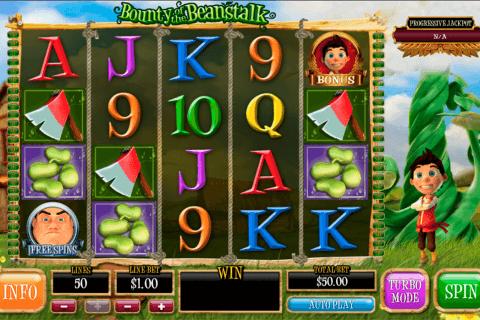 bounty of the beanstalk playtech slot
