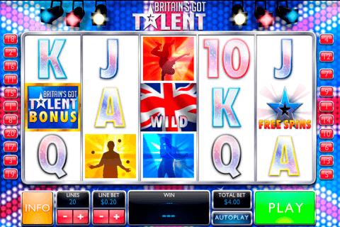 britains got talent playtech slot