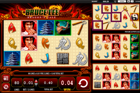bruce lee dragons tale wms slot