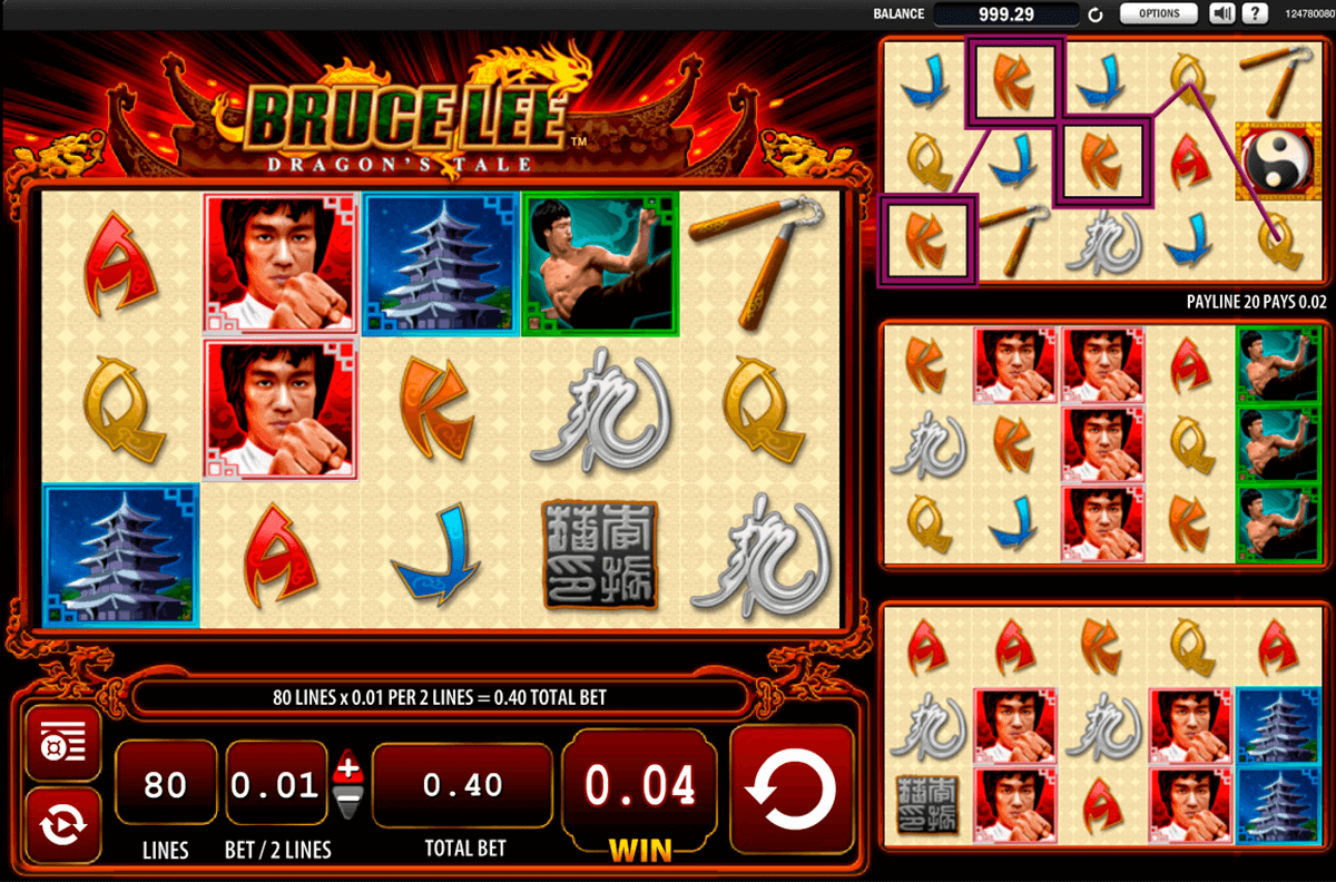Bruce lee slot machine online free