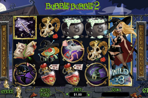 bubble bubble  rtg slot