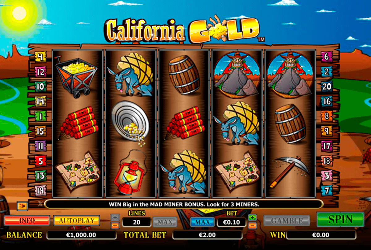 california gold netgen gaming slot