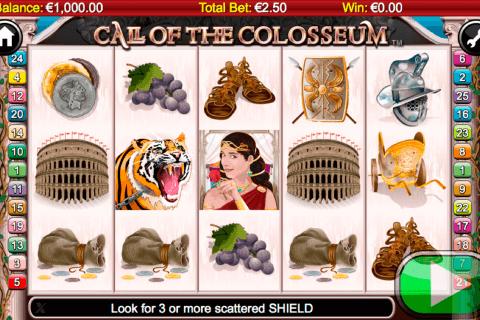 call of the colosseum netgen gaming slot