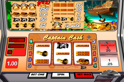 captain cash betsoft slot