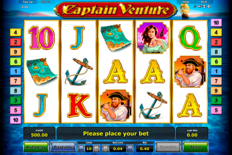 captain venture novomatic slot