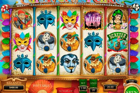 carnival of venice pragmatic slot