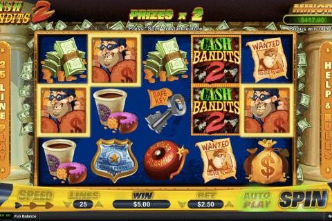 cash bandits  rtg slot