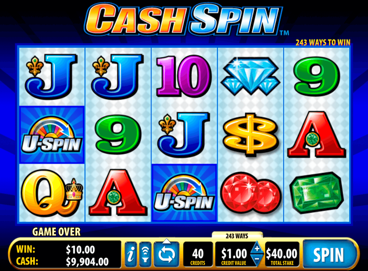 cash spin bally slot