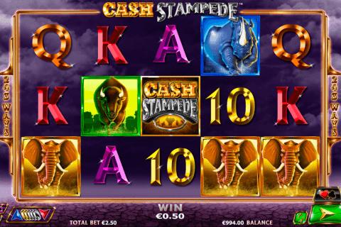 cash stampede netgen gaming slot