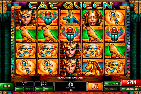 cat queen playtech slot