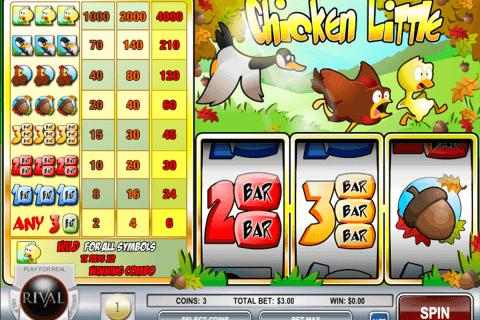 chicken little rival slot