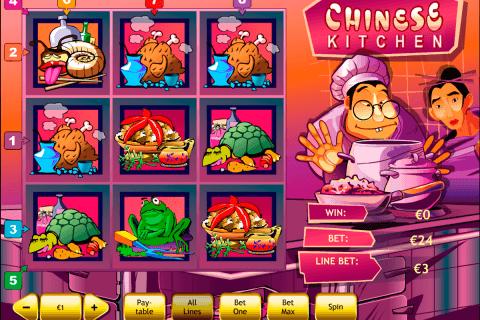 chinese kitchen playtech slot