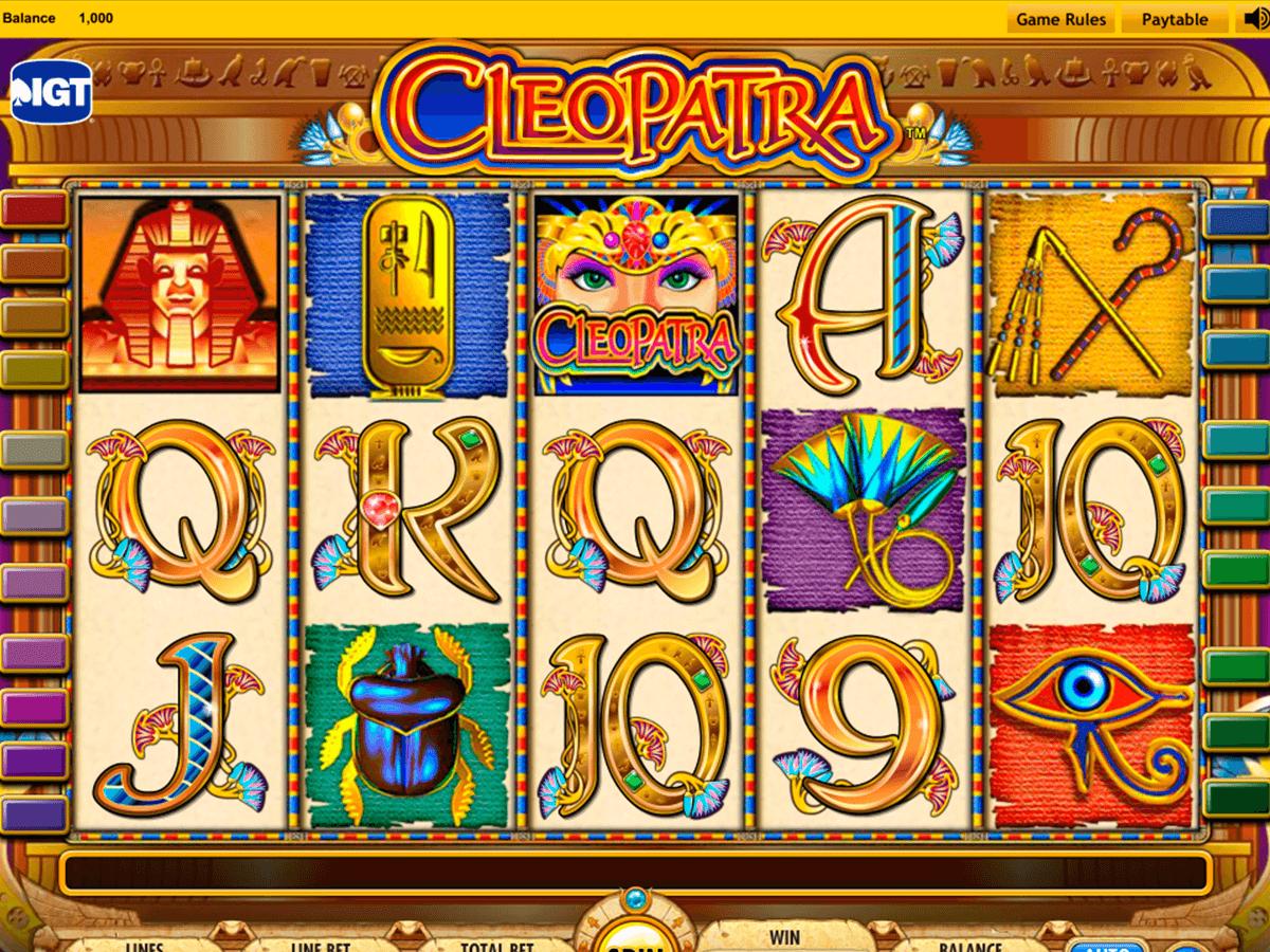 cleopatra igt slot