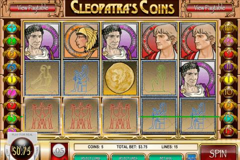 cleopatras coins rival slot