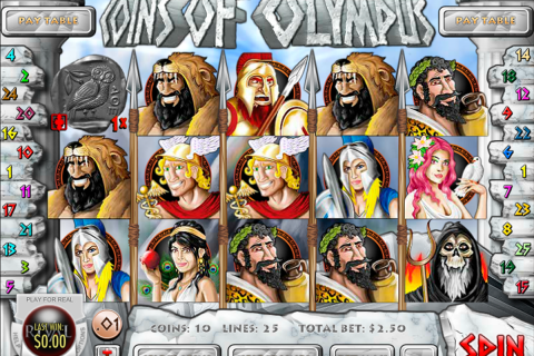 coins of olympus rival slot