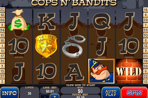 cops n bandits playtech slot