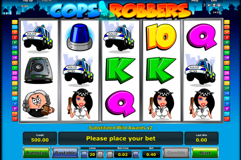 cops n robbers novomatic slot
