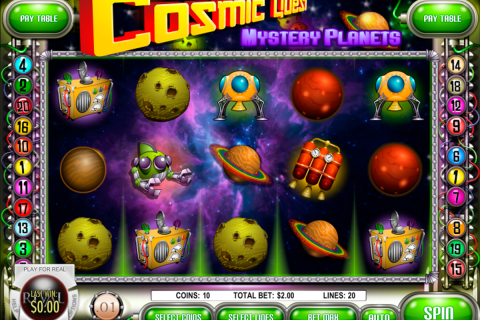 cosmic quest  mystery planets rival slot
