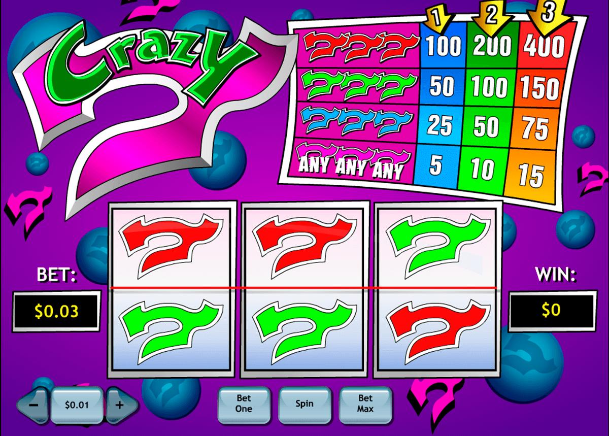 crazy 7 playtech slot