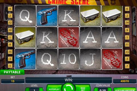 crime scene netent slot