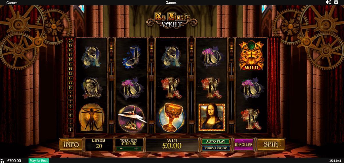 Spiele Da VinciS Treasure - Video Slots Online