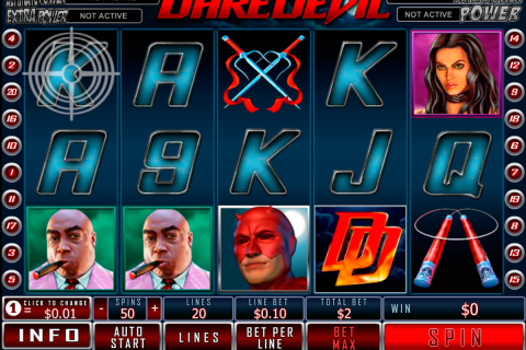 daredevil playtech slot