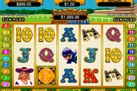 derby dollars rtg slot