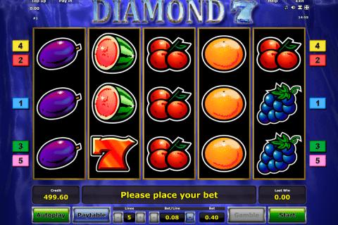 diamond  novomatic slot