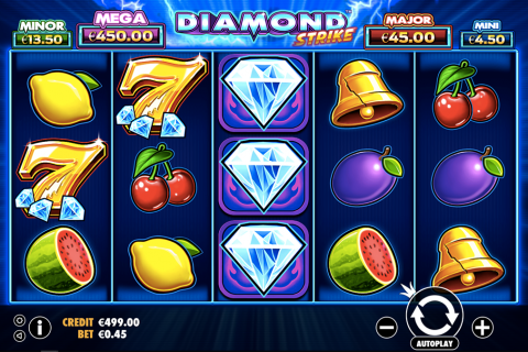 diamond strike pragmatic slot
