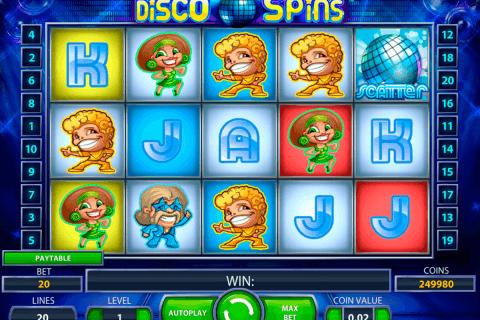 disco spins netent slot