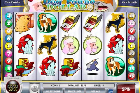 dog pound dollars rival slot