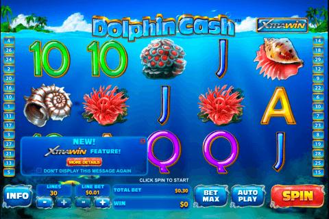 dolphin cash playtech slot