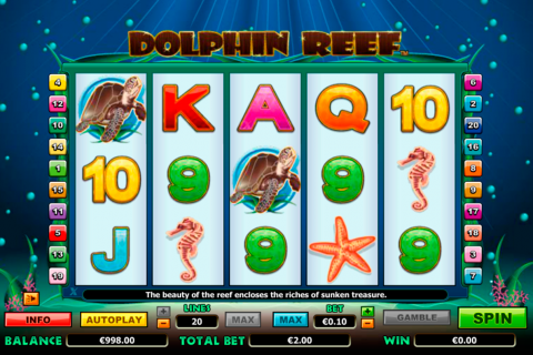 dolphin reef netgen gaming slot