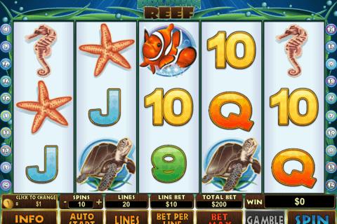 dolphin reef playtech slot