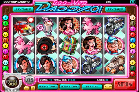 doo wop daddyo rival slot