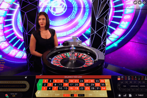 double ball roulette evolution gaming online