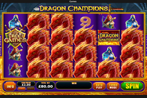dragon champions playtech slot