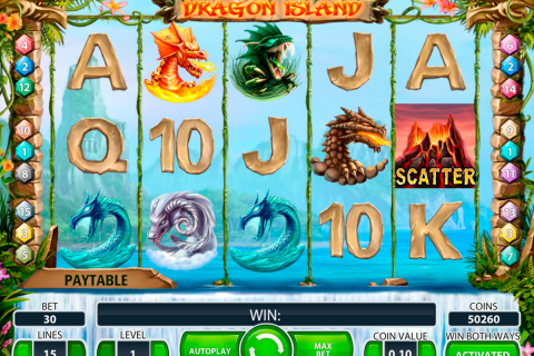 dragon island netent slot