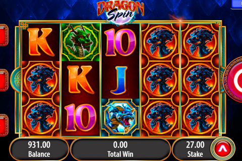 dragon spin bally slot