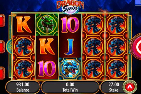 dragon spin bally slot