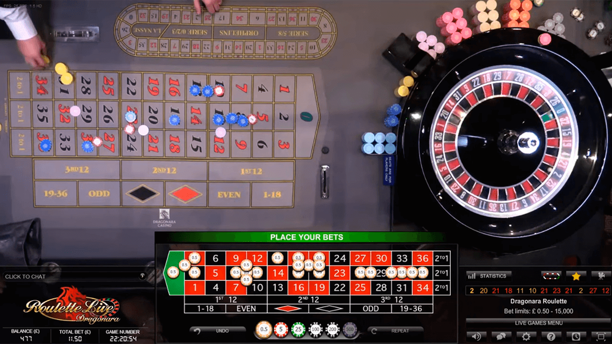 dual play roulette evolution gaming online