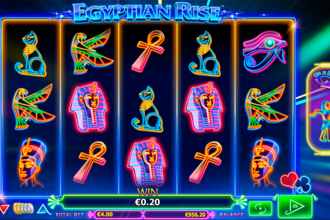 egyptian rise netgen gaming slot