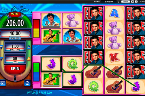 elvis the king lives wms slot