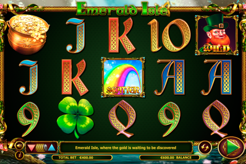 emerald isle netgen gaming slot