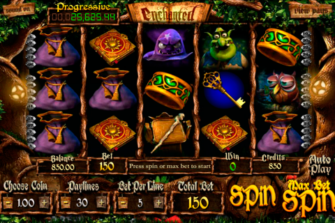 enchanted betsoft slot