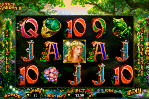 enchanted garden ii rtg slot